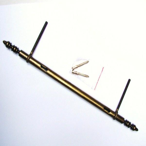 Fiche lacet d gondable en acier vieux bronze 0083 - Fiche a lacet ...
